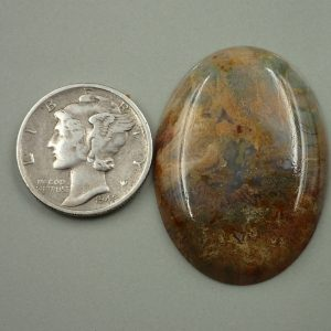 #AG 72 Moss Agate 24x32mm 25.35ct. $50.70