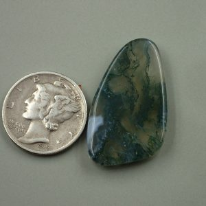 AG 13 Moss Agate 19.15ct. $38.30