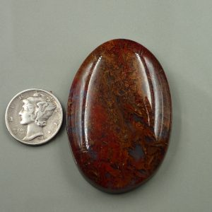 AG 18 Moss Agate 133.00ct. $66.50