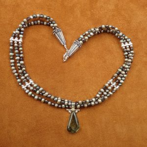 "J-34 Labradorite 18"" Necklace .925 $150.00"