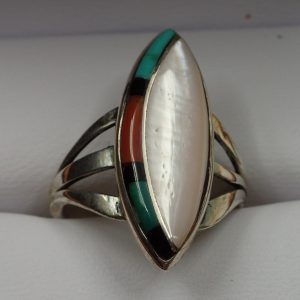 J-48 Navajo Ring Sign Size6.5 $250.00