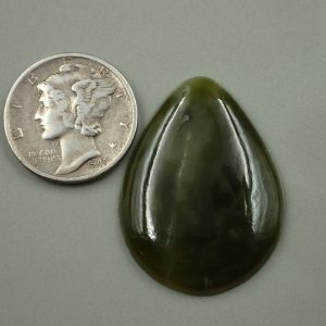 Jade-11 Nephrite 21.20ct. 22x30mm $35.00
