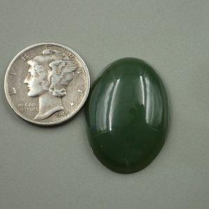 Jade-13 Nephrite 19.65ct. 18x24mm $39.50