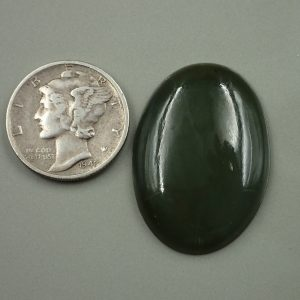 Jade-14 Nephrite 22.25ct. 20x28mm $44.50