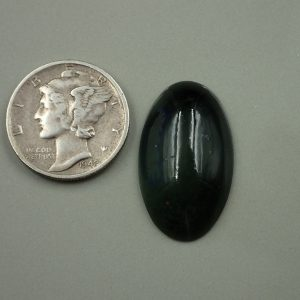 Jade-15 Nephrite 11.40ct. 14x23mm $30.00