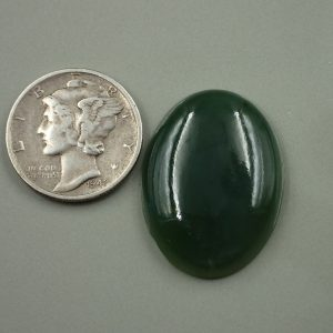 Jade-19 Nephrite 21.40ct. 18x25mm $42.80