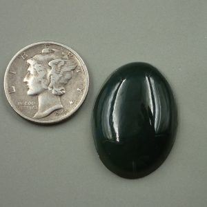 Jade-22 Nephrite 21.40ct. 18x25mm $25.00