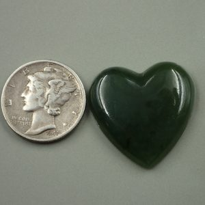 Jade-24 Nephrite 20.20ct. 24x24mm $35.00