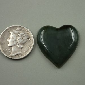 Jade-25 Nephrite 17.55ct. 22x22mm $35.00
