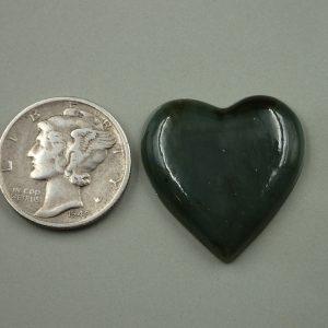 Jade-25 Nephrite 17.55ct. 22x22mm $35.00