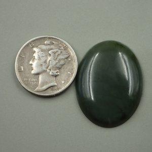 Jade-40 Nephrite 17.50ct. 20x25mm $35.00