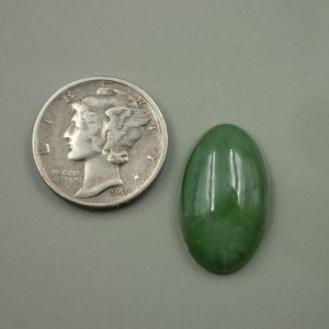 Jade-41 Nephrite 9.35ct. 12x20mm $30.00
