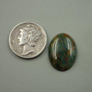 Jade-44 Jade 7.20ct. 14x18mm $25.00
