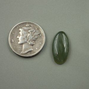 Jade-45 Nephrite 4.33ct. 10x17mm $20.00