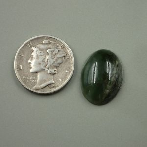 Jade-47 Nephrite 8.15ct. 12x17mm $25.00