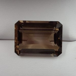 Quartz 34 Smokey Quartz 20.60ct. 15x20mm $40.00