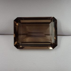 Quartz 36 Smokey Quartz 17.30ct. 15x20mm $40.00