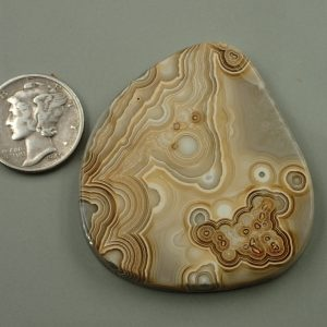 #AG 03 Lace Agate 96.70ct. $48.35