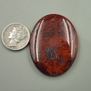 #AG 41 Moss Agate 58.20ct. $29.10