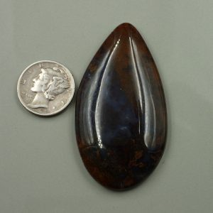#AG 42 Moss Agate 75.10ct. $37.55