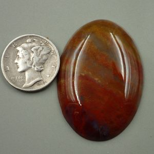 #AG 61 Moss Agate 30 x 40mm 38.10ct. $38.10