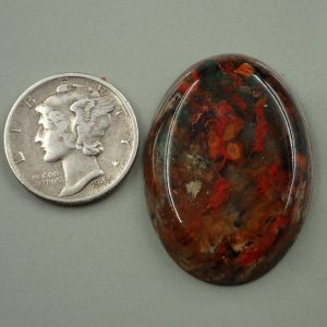 #AG 70 Plume Agate 22x30mm 36.00ct. $36.0