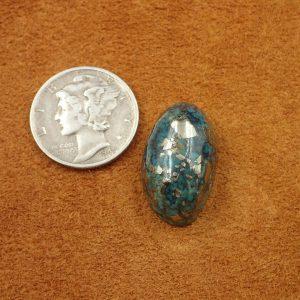 #749 Morenci Turquoise 17.95ct. $179.50