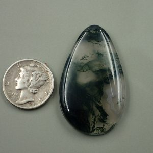 AG 11 Moss Agate 40.90ct. $81.80
