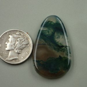AG 12 Moss Agate 25.15ct. $50.30