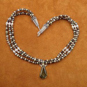 "J-34 Labradorite 18"" Necklace .925 $150.00"