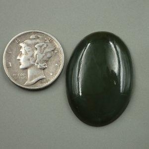 Jade-14 Nephrite 22.25ct. 20x28mm $44.50
