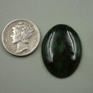 Jade-20 Nephrite 16.55ct. 20x25mm $33.10