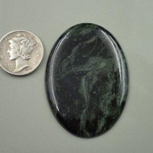 Jade-36 Nephrite 37.85ct. 32x44mm $60.00