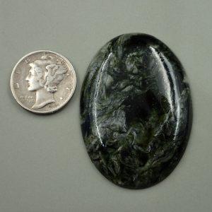 Jade-37 Nephrite 54.00ct. 30x43mm $60.00
