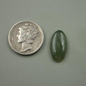 Jade-45 Nephrite 4.33ct. 10x17mm $20.00