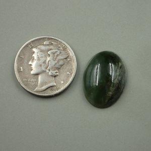 Jade-47 Nephrite 8.15ct. 12x17mm $25.00