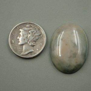 Jade-49 Porterville Jadeite 19.50ct. 18x25mm $35.00