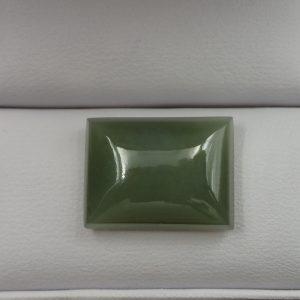 Jade-60 Nephrite 11.40ct. 12x15mm $100.00